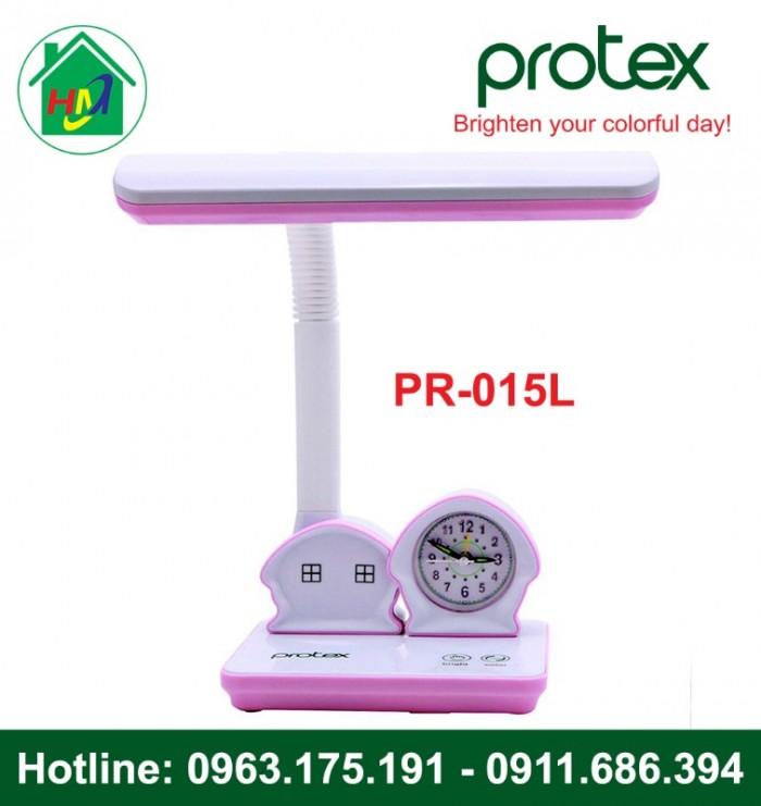 Đèn Học Để Bàn Hình Ngôi Nhà Có Đồng Hồ Protex PR-015L1