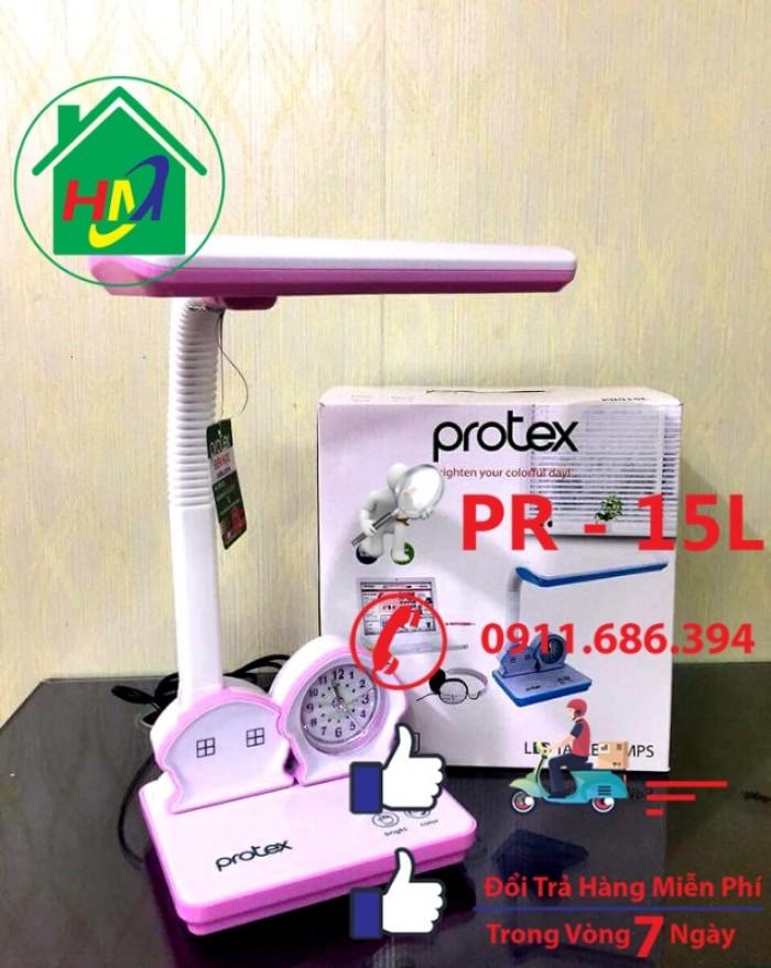 Đèn Học Để Bàn Hình Ngôi Nhà Có Đồng Hồ Protex PR-015L10