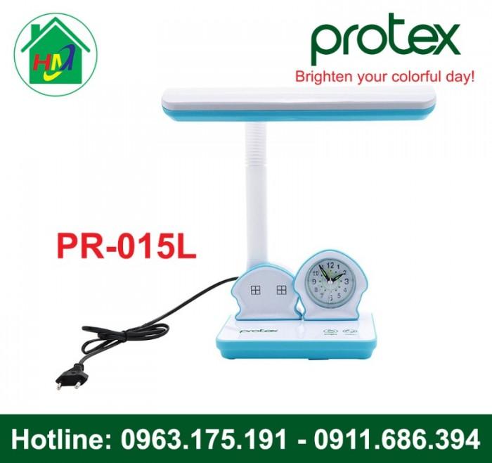 Đèn Học Để Bàn Hình Ngôi Nhà Có Đồng Hồ Protex PR-015L3