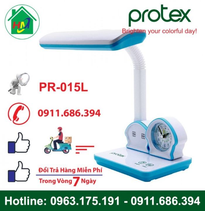 Đèn Học Để Bàn Hình Ngôi Nhà Có Đồng Hồ Protex PR-015L5