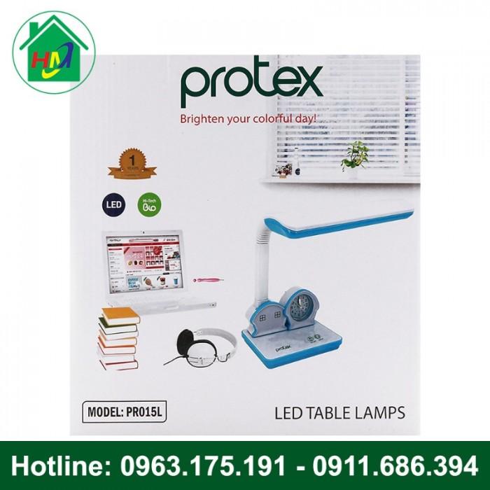 Đèn Học Để Bàn Hình Ngôi Nhà Có Đồng Hồ Protex PR-015L7