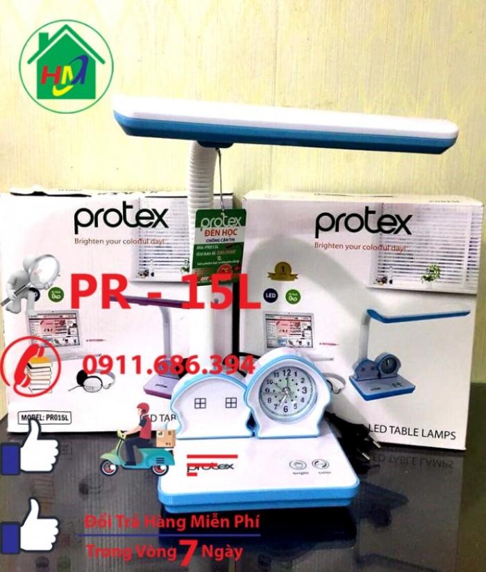 Đèn Học Để Bàn Hình Ngôi Nhà Có Đồng Hồ Protex PR-015L8