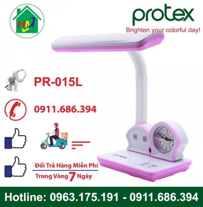 Đèn Học Để Bàn Hình Ngôi Nhà Có Đồng Hồ Protex PR-015L9