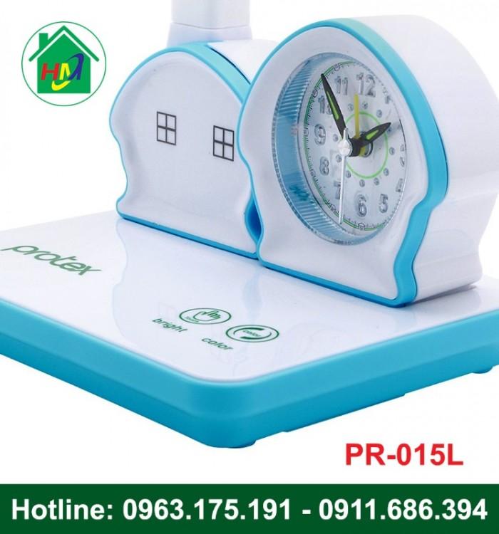 Đèn Học Để Bàn Hình Ngôi Nhà Có Đồng Hồ Protex PR-015L4