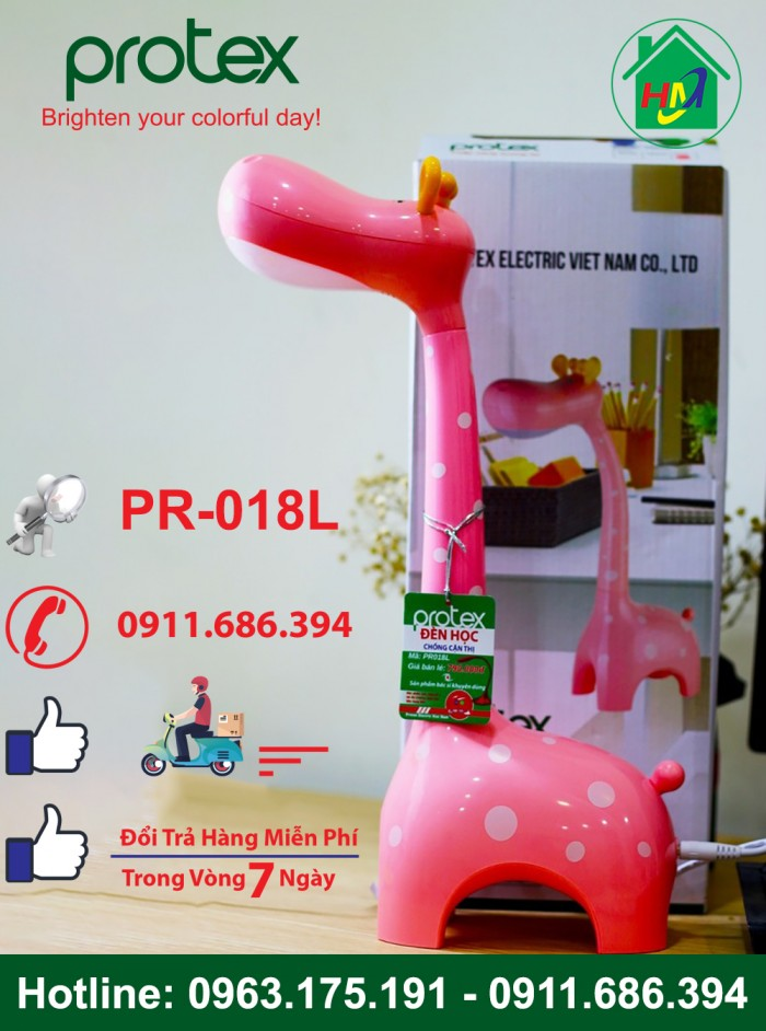 Đèn Học Con Hươu Cao Cổ Để Bàn Protex PR-018L5