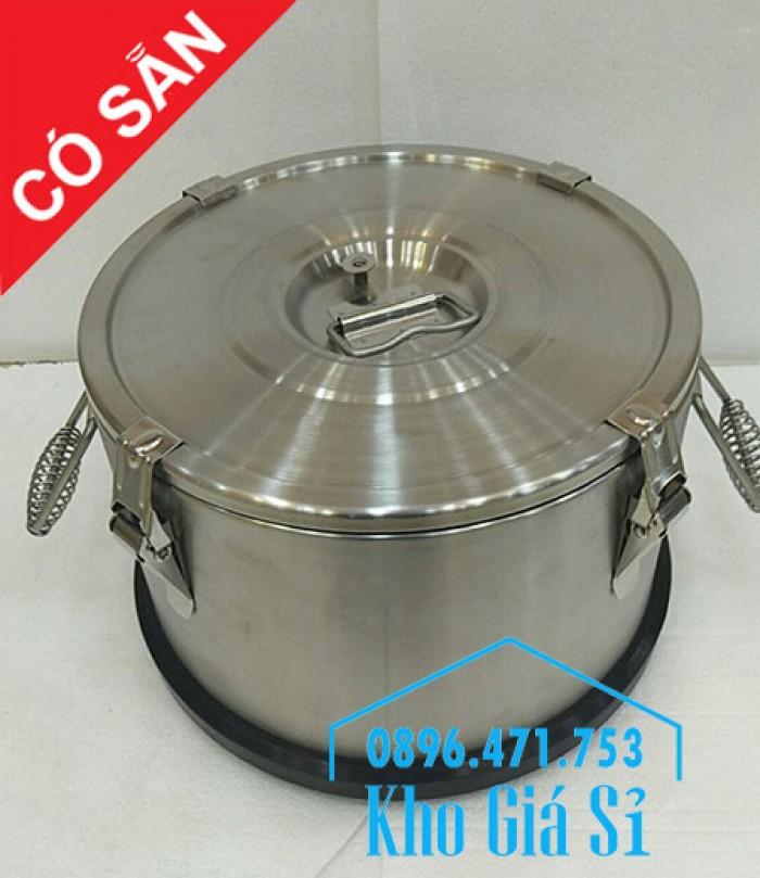 Nồi inox giữ nhiệt, cách nhiệt đựng thực phẩm, thức ăn, nước lèo, nước phở12