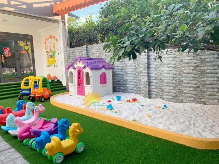 Cung cấp nhà cổ tích dễ thương cho trường mầm non, công viên, sân chơi trẻ em2