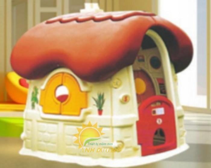 Cung cấp nhà cổ tích dễ thương cho trường mầm non, công viên, sân chơi trẻ em3
