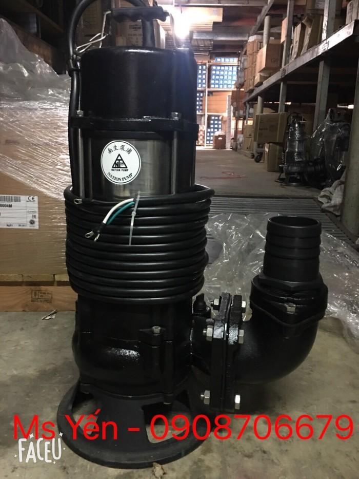 Máy bơm chìm hút bùn  NTP HSF280-12.2 205 (3 HP)0