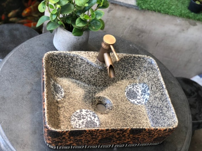 Chậu rửa mặt lavabo đá tự nhiên, đá cẩm thạch, đá cuội ngoài trời cao cấp rẻ17