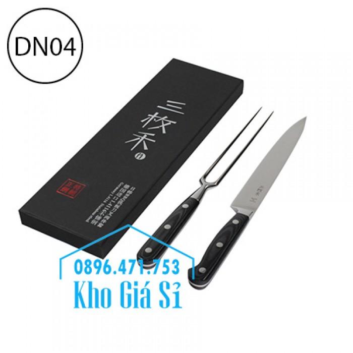 Bộ dao muỗng nĩa ăn bò bít tết - Bộ dao nĩa cao cấp ăn beefsteak - Nhật Bản