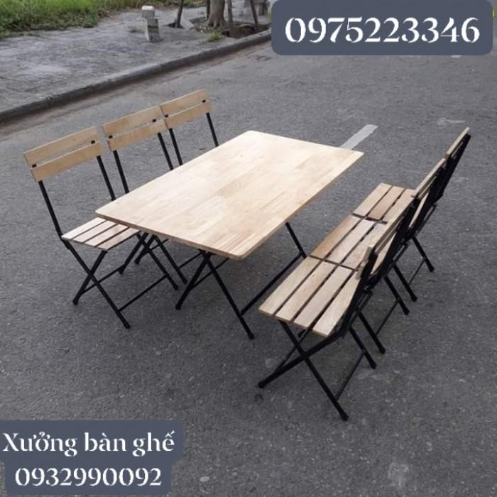 Bàn ghế xếp giá tại xưỡng sản xuất2