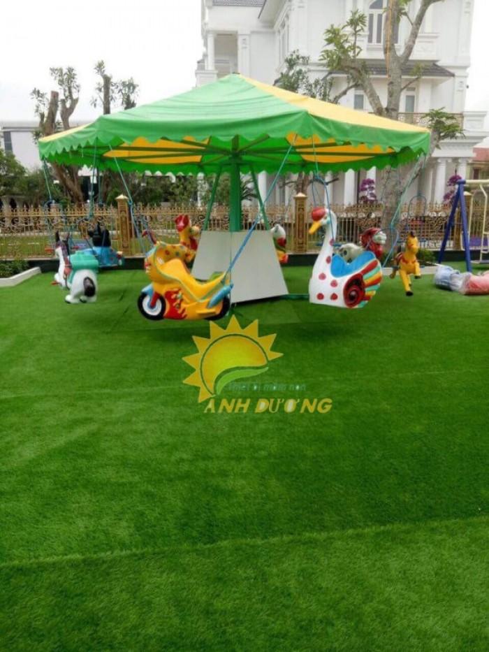 Chuyên cung cấp cỏ nhân tạo cho trường mầm non, công viên, khu vui chơi29