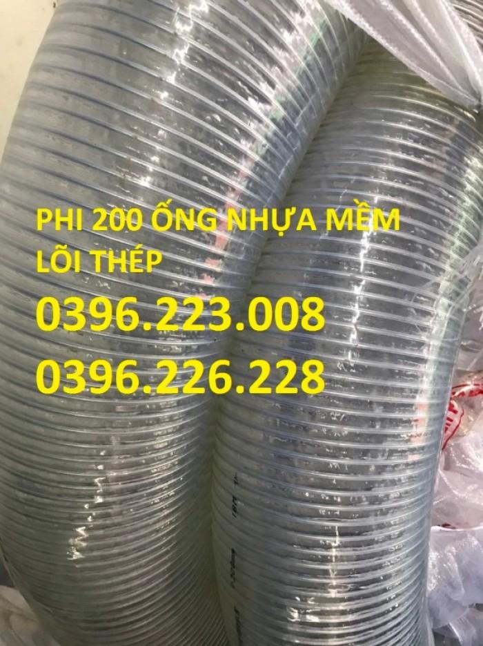 Chuyên cung cấp sản phẩm ống nhựa mềm lõi thép phi 150 chuyên hút xả xăng dầu8