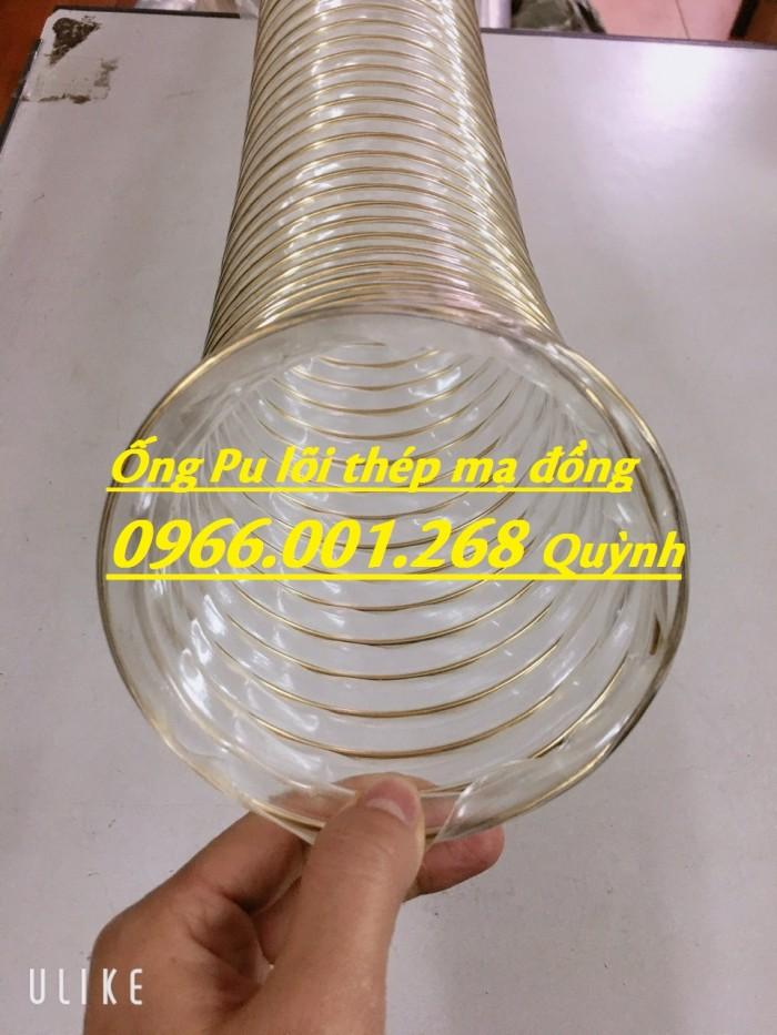 Ống nhựa Pu lõi đồng, Ống nhựa Pu lõi thép mạ đồng D60, D90, D100, D125, D150, D2002
