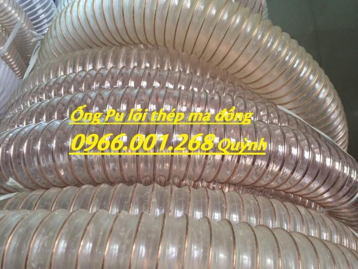 Ống nhựa Pu lõi đồng, Ống nhựa Pu lõi thép mạ đồng D60, D90, D100, D125, D150, D2001