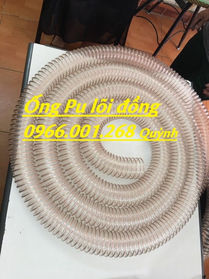 Ống nhựa Pu lõi đồng, Ống nhựa Pu lõi thép mạ đồng D60, D90, D100, D125, D150, D2008