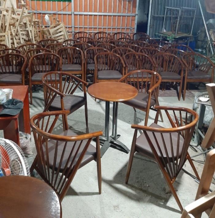 Bàn ghế gỗ 7 xong giá tại nơi sản xuất..1
