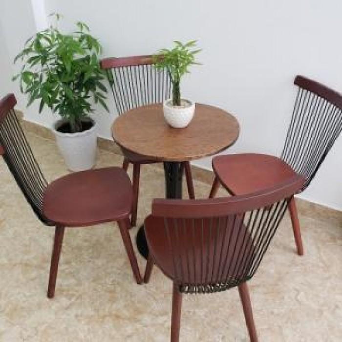 Bàn ghế gỗ 7 xong giá tại nơi sản xuất..3