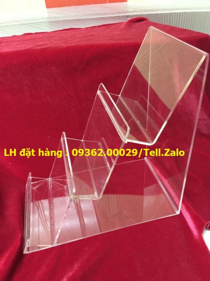 Kệ trưng bày sản phẩm mỹ phẩm, kệ đựng nail, sơn móng tay mica11