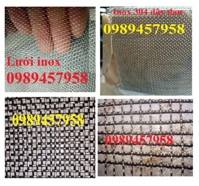 Gia công lưới inox đan, lưới inox hàn 304, 201 và 316 dây 1ly, 2ly, 3ly1