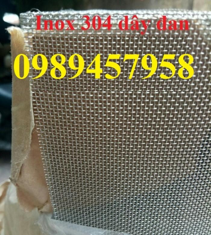 Gia công lưới inox đan, lưới inox hàn 304, 201 và 316 dây 1ly, 2ly, 3ly2