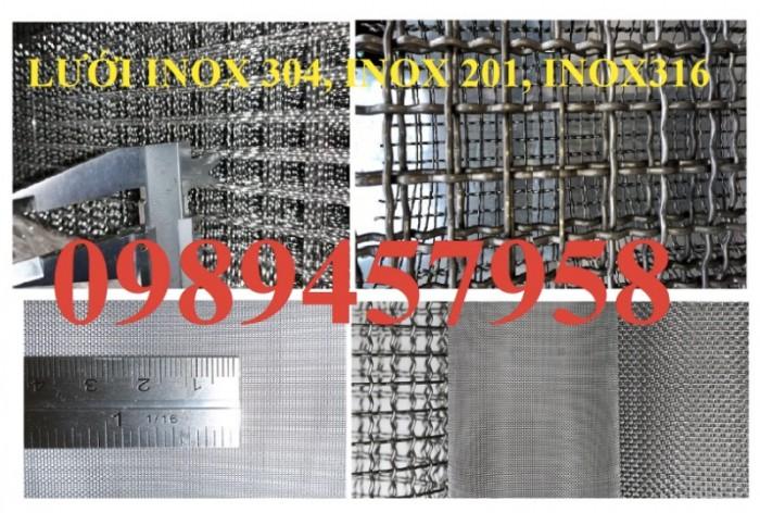 Gia công lưới inox đan, lưới inox hàn 304, 201 và 316 dây 1ly, 2ly, 3ly3