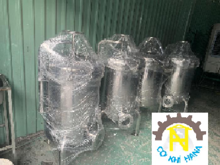 Bình inox 316 lọc nước mắm, dung dịch mặn0