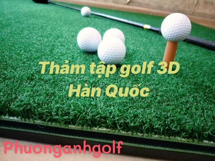 Thảm tập golf 3D Hàn Quốc5