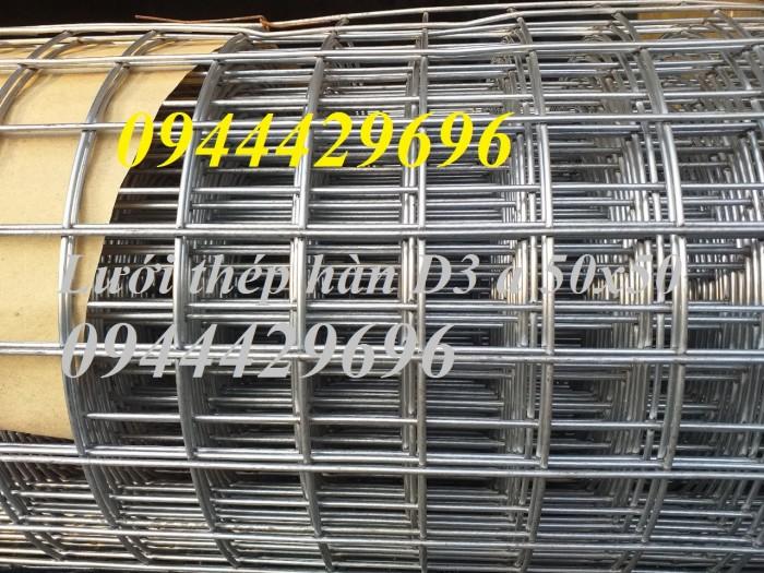 Lưới thép hàn D3 a 50x50 khổ 1m, 1.2m , 1.5m mạ kẽm6