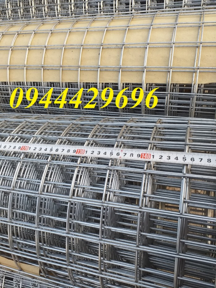 Lưới thép hàn D3 a 50x50 khổ 1m, 1.2m , 1.5m mạ kẽm15