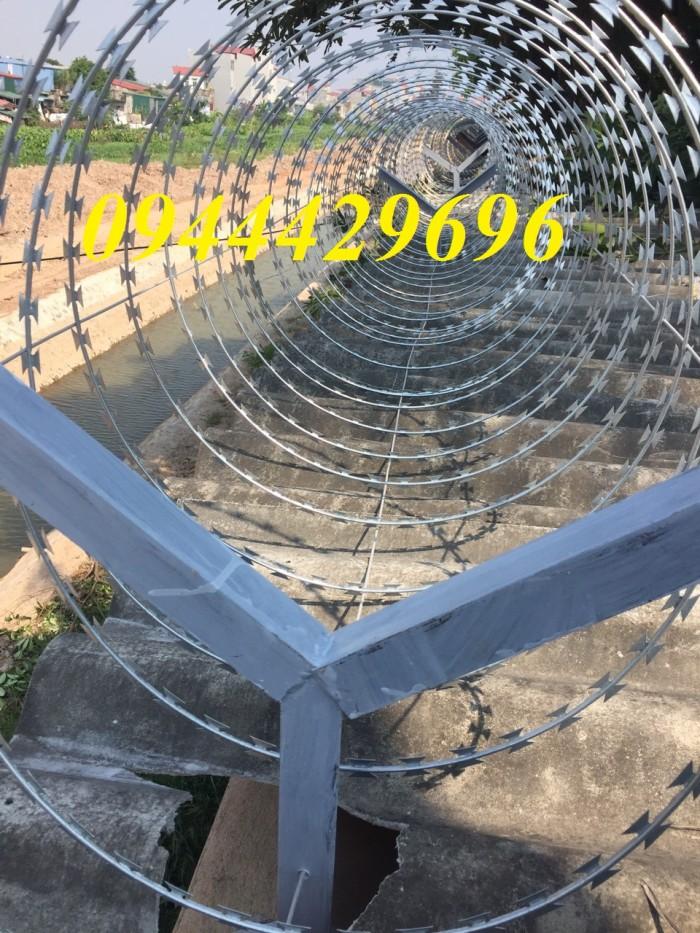 Thi Công Hàng Rào Dây Thép Gai  Đk 457