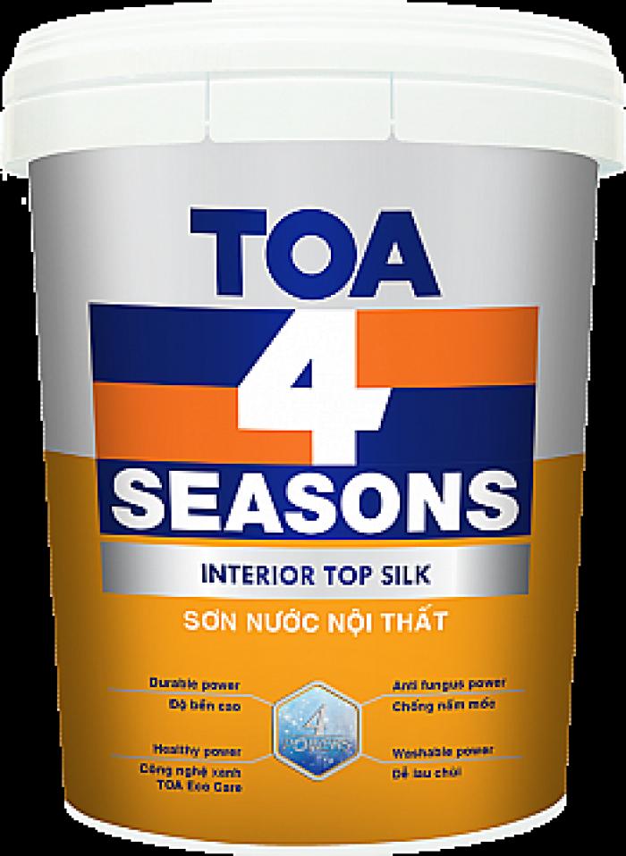 Sơn Toa 4 Seasons interior top seal màu 7613 thùng 18 lít0
