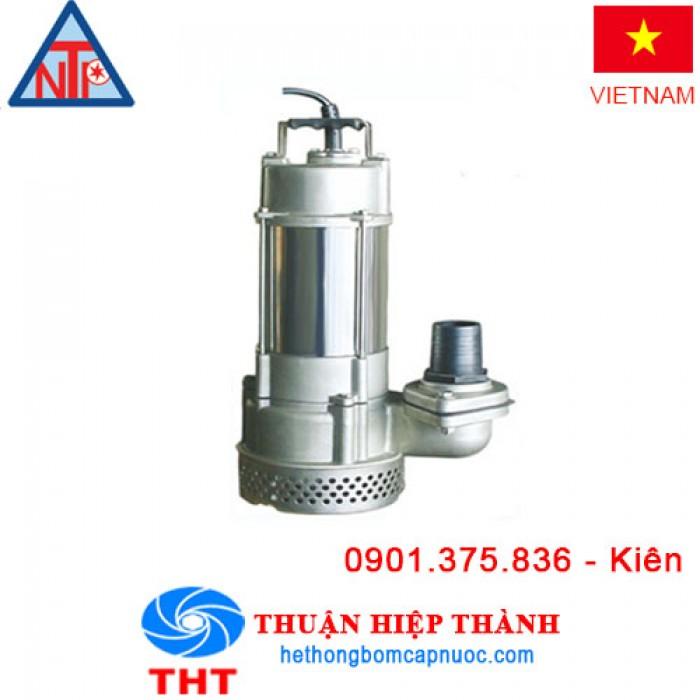 Máy bơm chìm hút nước thải Inox NTP SSM250-1.37 2651