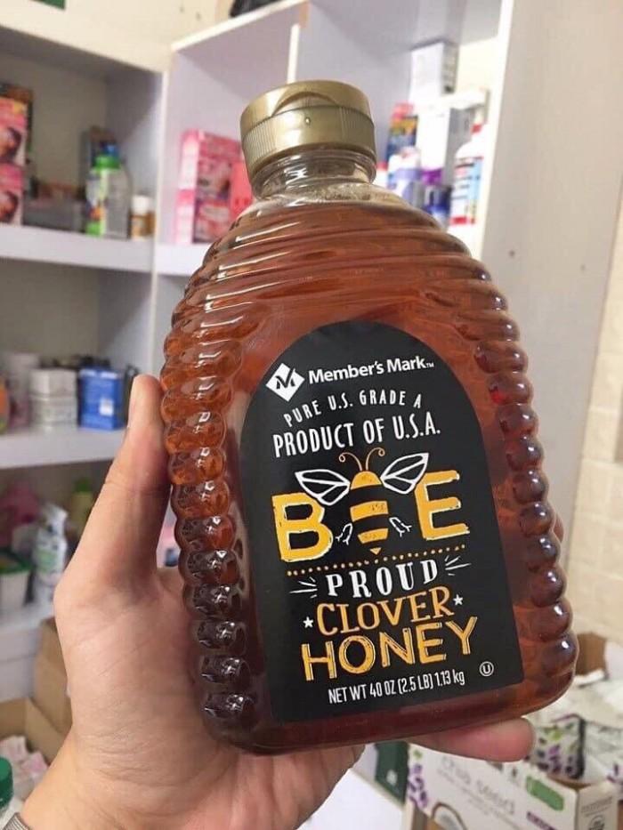 MẬT ONG NGUYÊN CHẤT TỰ NHIÊN MEMBER'S MARK - USA - MẬT ONG THIÊN NHIÊN - SIÊU HẢO HẠNG   Giá bán: 350k/chai 1130gr  - Đây là một trong những loại mật ong được ưa chuộng và bán chạy nhất trên toàn thế giới. Ong được dùng để nuôi cấy và lấy mật được phát triển trong một môi trường thiên nhiên sạch và khép kín, đã được kiểm nghiệm đạt tiêu chuẩn an toàn USDA Organic. - Đây là loại nguyên chất siêu hảo hạng, hàm lượng dinh dưỡng, vitamin chứa trong mật ong hoàn toàn tự nhiên,1