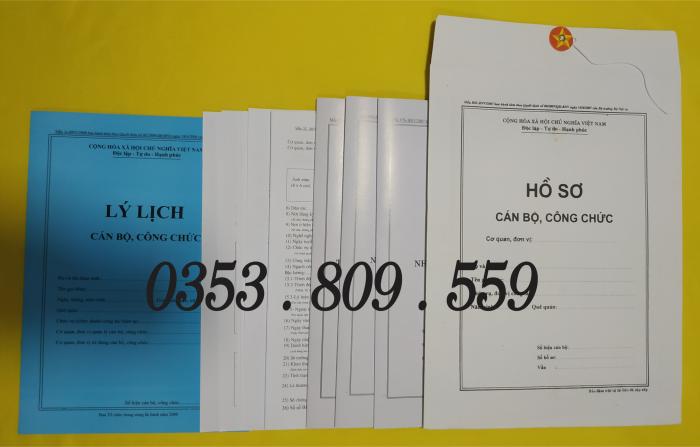 Bán hồ sơ viên chức thông tư 07/2019, Bìa trắng9