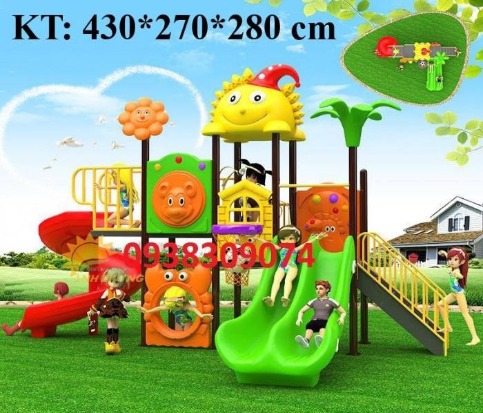 Chuyên cầu trượt liên hoàn ngoài trời cho trường mầm non, công viên, sân chơi2