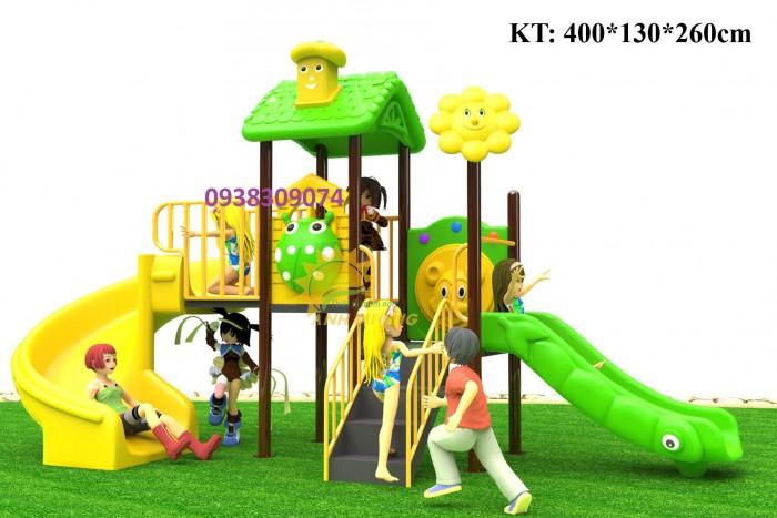 Chuyên cầu trượt liên hoàn ngoài trời cho trường mầm non, công viên, sân chơi11