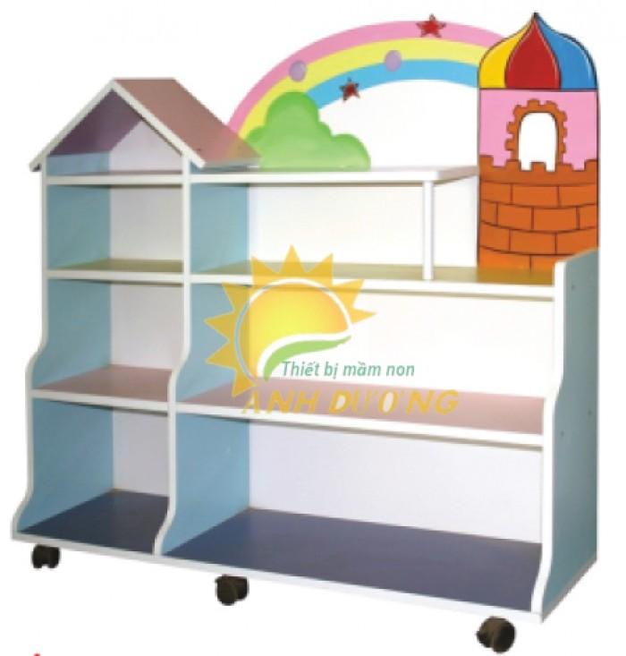 Chuyên cung cấp kệ gỗ trẻ em cho trường lớp mầm non, gia đình giá TỐT1