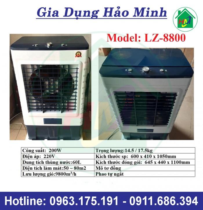 Quạt Điều Hòa Không Khí 60L Giá Rẻ LZ-88000