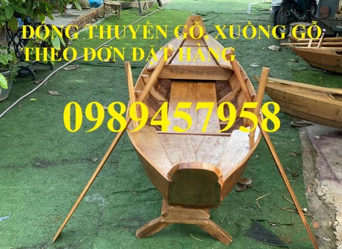 Nhận đóng thuyền gỗ 4m, 5m, 6m, làm xuồng gỗ theo đơn đặt hàng