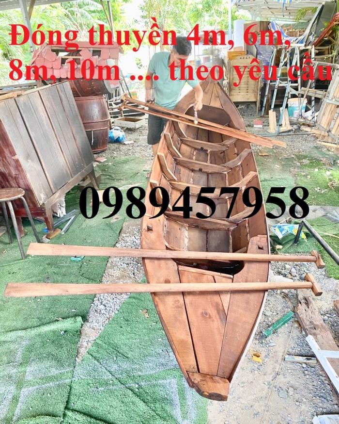 Bán các loại Thuyền gỗ 4m, 5m, 6m, Thuyền gỗ trang trí nhà hàng, trang trí quán cafe10
