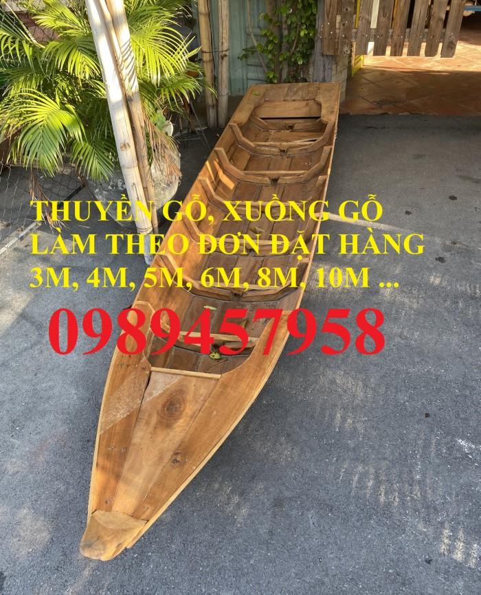Bán các loại Thuyền gỗ 4m, 5m, 6m, Thuyền gỗ trang trí nhà hàng, trang trí quán cafe12