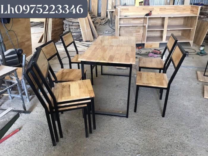Công Ty - Bàn ghế gỗ cho quán nhậu bình dân,vỉa hè..1