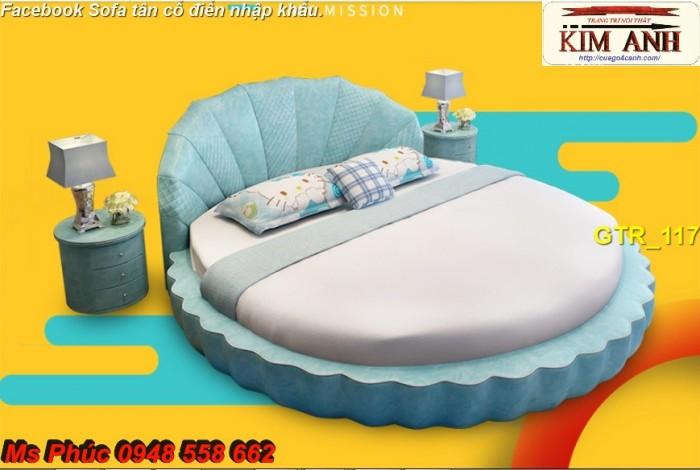 giường tròn cho phòng ngủ đẳng cấp