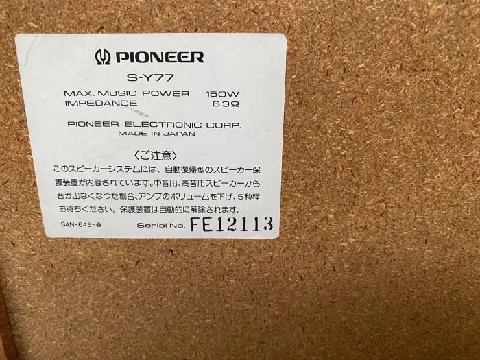 LOA PIONEER S-Y77 JAPAN4