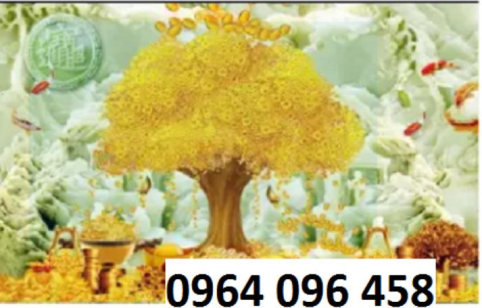 Tranh 3d cây tiền - 65VB6