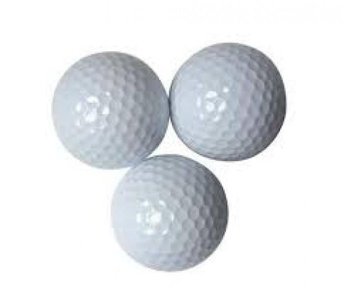 Bóng tập golf, banh tập golf 2 lớp nhập khẩu0