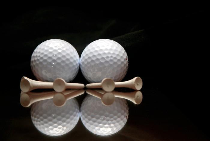 Bóng tập golf, banh tập golf 2 lớp nhập khẩu10