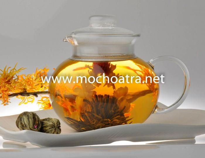 Trà hoa nghệ thuật/Blooming Tea - Mộc Hoa Trà4